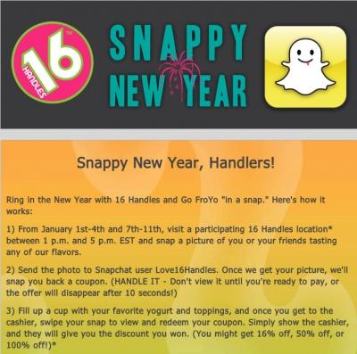 Snapchat-Promotion