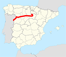 Duero River Valley Map.png