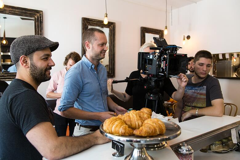 Behind The Scenes Upside Film Shoot Melbourne Jon 1
