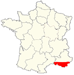 Map of Provence, France.png