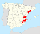 Mediterranean Coast Wine Regions Map.png