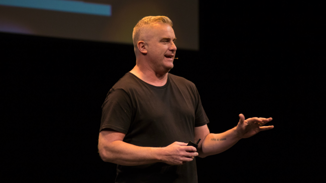 Nick Bowditch presenting at Typsy Live 2016.png