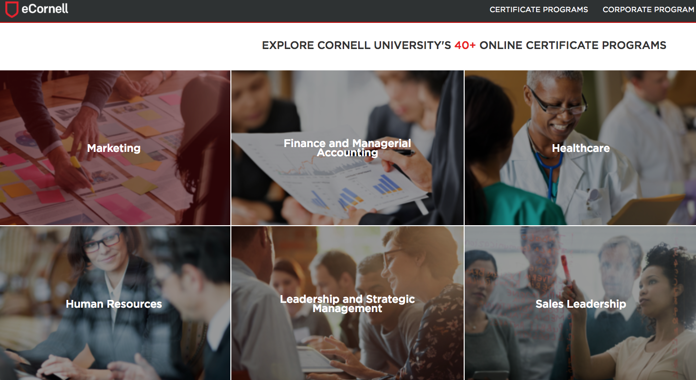 eCornell online learning portal.png