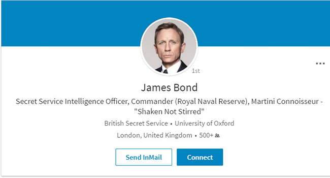 James Bond_LinkedIn