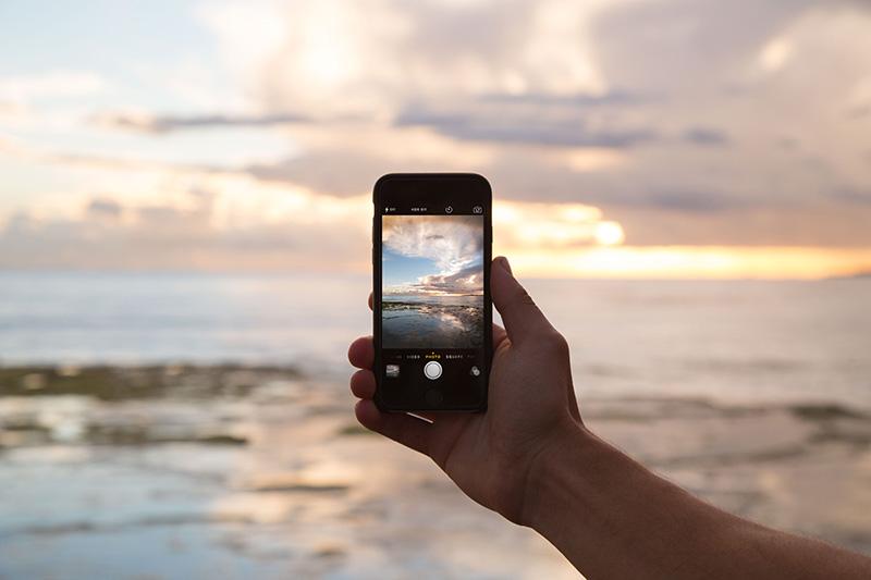 Phone Travel Sunset Instagram