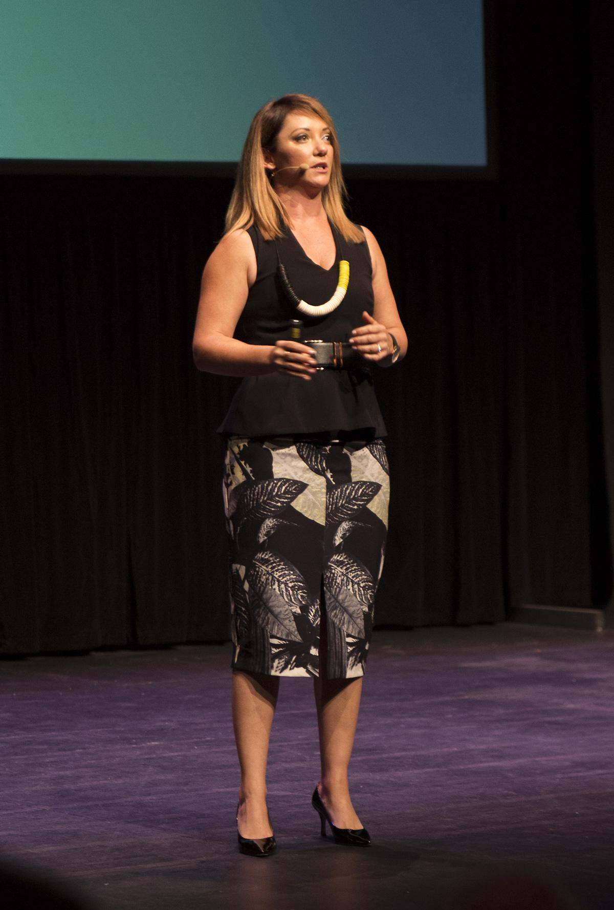 Amanda Stevens at Upside Live Melbourne 2015