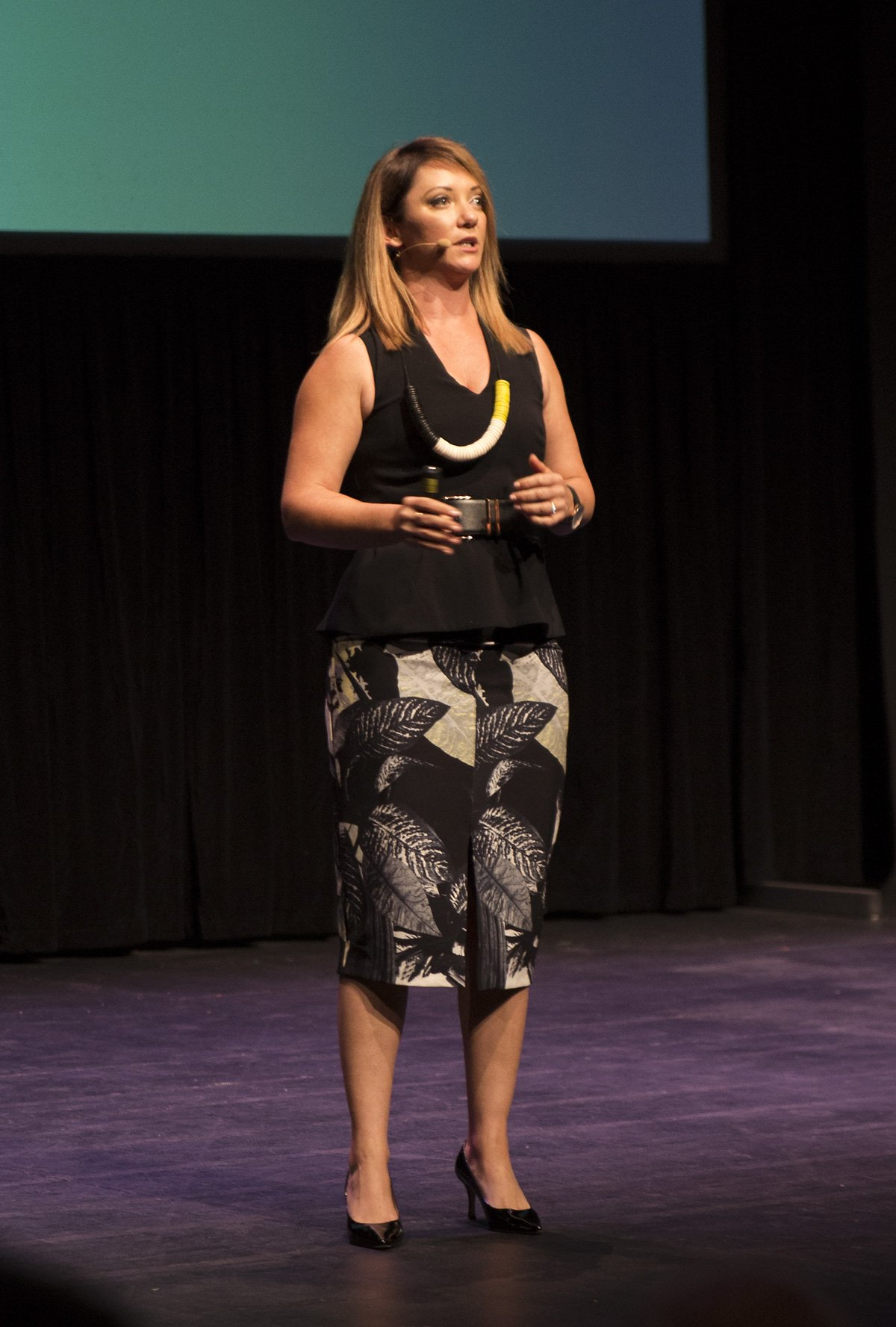 Amanda Stevens at Upside Live Melbourne 2015
