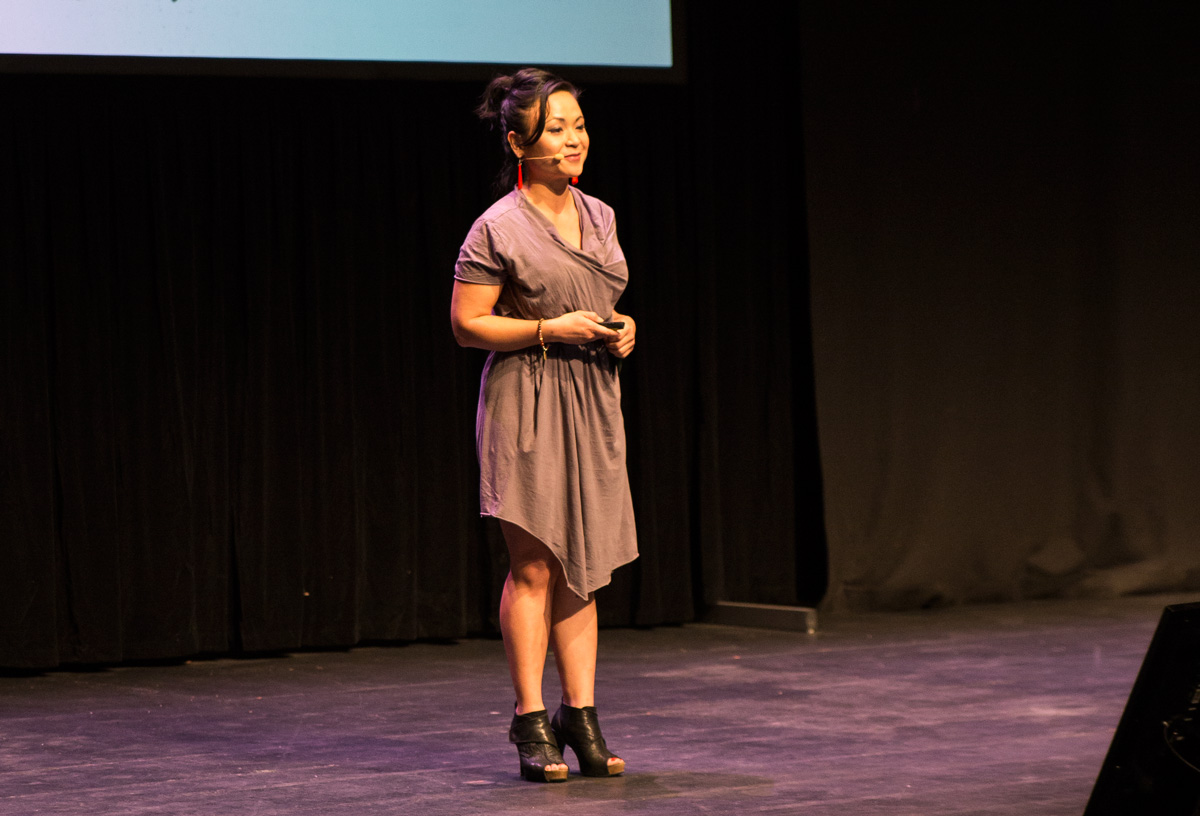 Pauline Nguyen from Red Lantern at Upside Live Melbourne 2015