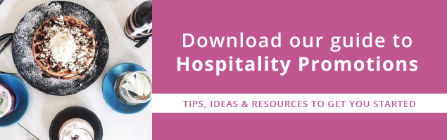 Download Our Guide to Hospitality Promotions