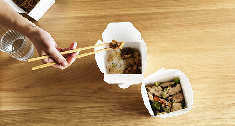 Feature image: close-up of food in takeaway containers