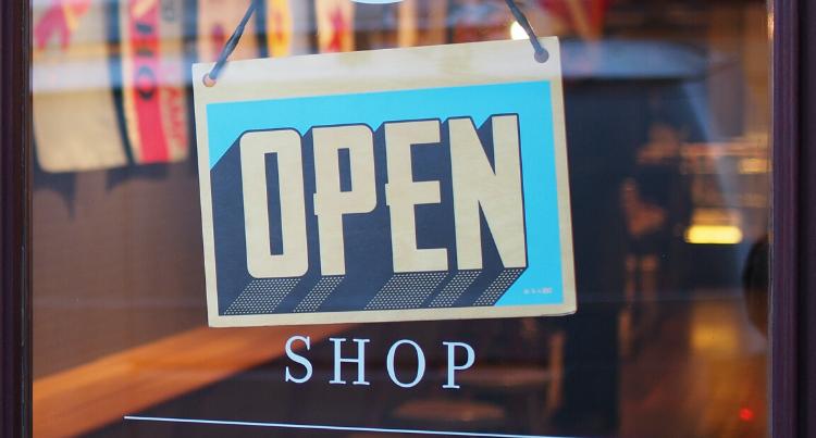 Restaurant open sign