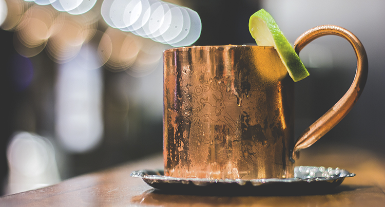 pairing food with vodka moscow mule